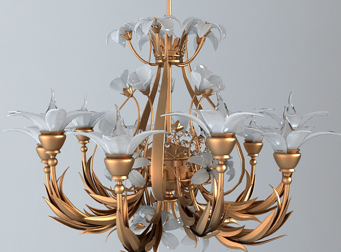 Ornate Chandelier3D model