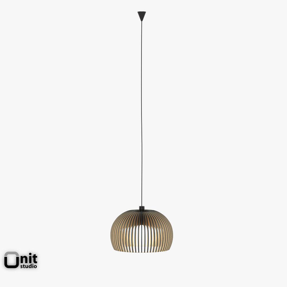 Secto Design Lights Collection 3D Model Max Obj 3ds Fbx Dwg
