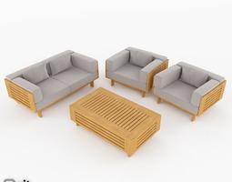Skargaarden Falsterbo exterior lounge set 3D