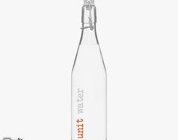 bottle-cap Water Bottle by UNIT Studio 3D model