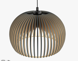 3D model Atto 5000 pendant light by Secto design