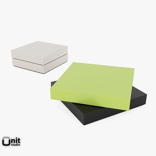 trovo coffee table by leolux 3d model max obj mtl 3ds fbx dwg unitypackage prefab 1