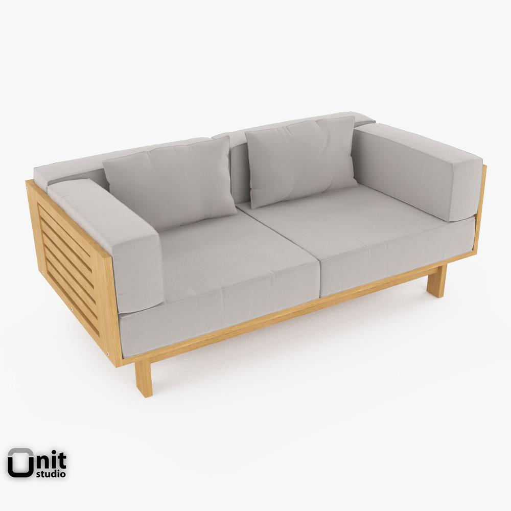 Skargaarden Falsterbo outdoor sofa