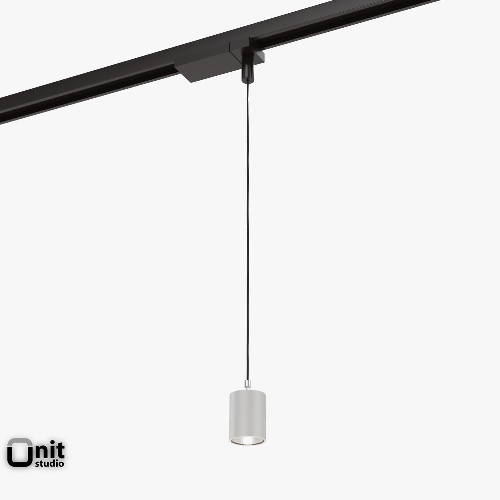 Zumtobel Vivo P M Pendant Spotlight 3d Model Max Obj