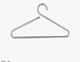 Happy clothes hanger by D-Tec 3D Model