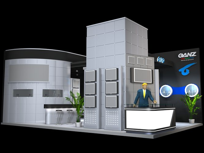 Exhibition Stand 3d Model Free Download : All dmodels sharing d models flawlessy through all marketplaces