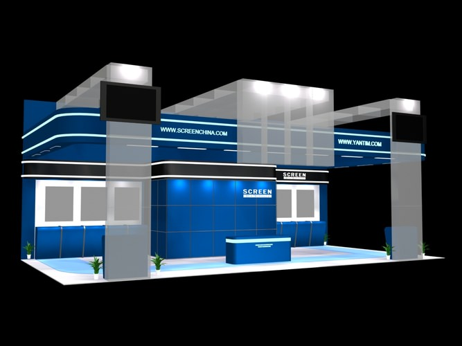 Exhibition Stand 3d Model : All 3dmodels.com sharing 3d models flawlessy through all marketplaces