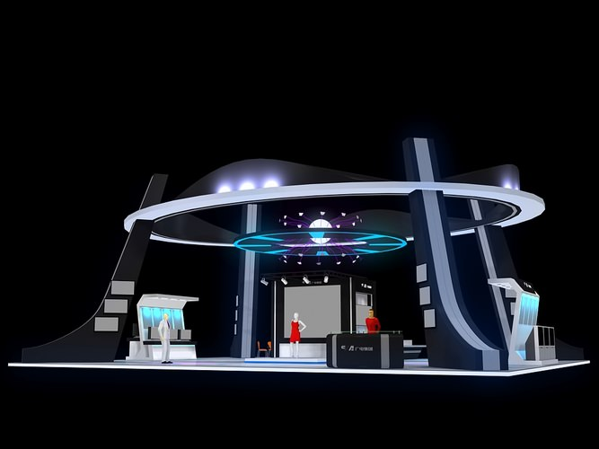Exhibition Stand 3d Model Free : All dmodels sharing d models flawlessy through all marketplaces