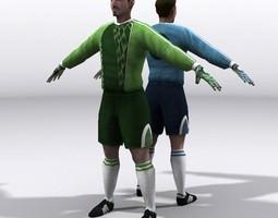 goalkeeper realtime 3d model