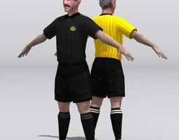 referee VR / AR ready 3d asset