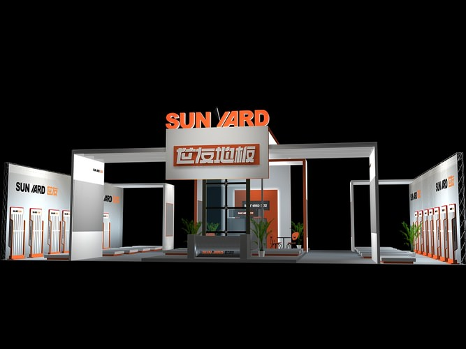 Exhibition Stand Frame : 3d model exhibit booth 151