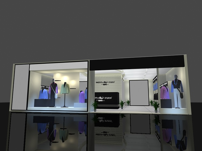 Exhibition Stand Models : Exhibition stand d cgtrader