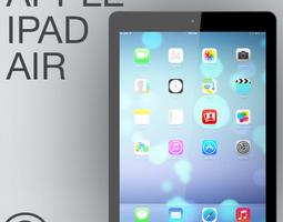 Apple iPad Air 3D Model