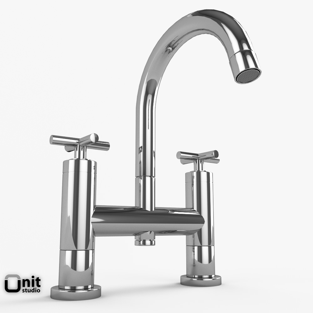 Bathroom Fixtures Dwg bathroom faucets collection hudson reed helix 3d model max obj 3ds