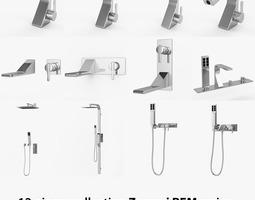 Zazzeri REM Series 12 Taps Collection 3D