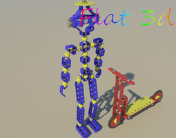 Metal Man 3D Model