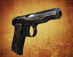Remington Model 51 3D Model