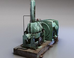 Centrifugal Water Pump 3D asset