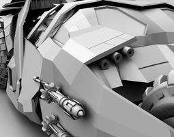 bat mobile TUMBLER F2 3D Model