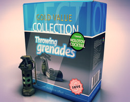 Grenades collection 3D Model