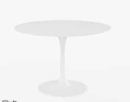 Saarinen Dining Table - 42 Round 3D