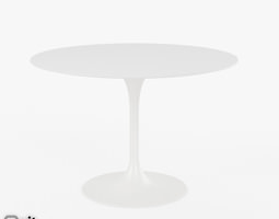 Saarinen Dining Table - 42 Round 3D Model