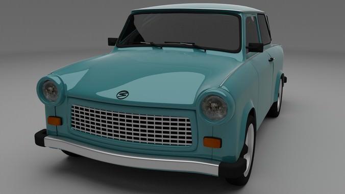 Trabant 6013D model