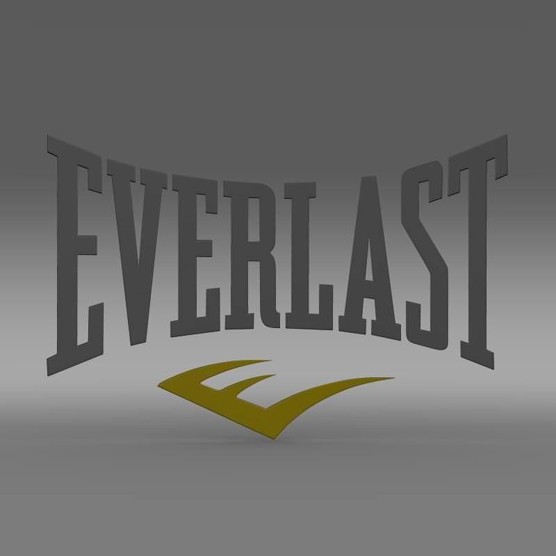 Everlast Logo 3D Model MAX OBJ 3DS FBX C4D LWO LW LWS