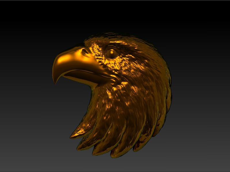 Eagle Head 3d Model 3d Printable Stl Cgtrader Com