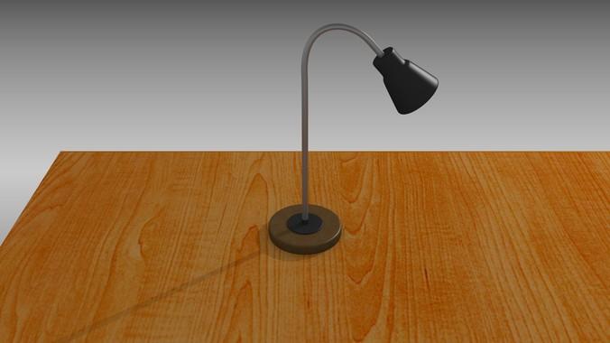 Desk lamp3D model