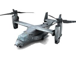 V-22 Osprey 3D Model