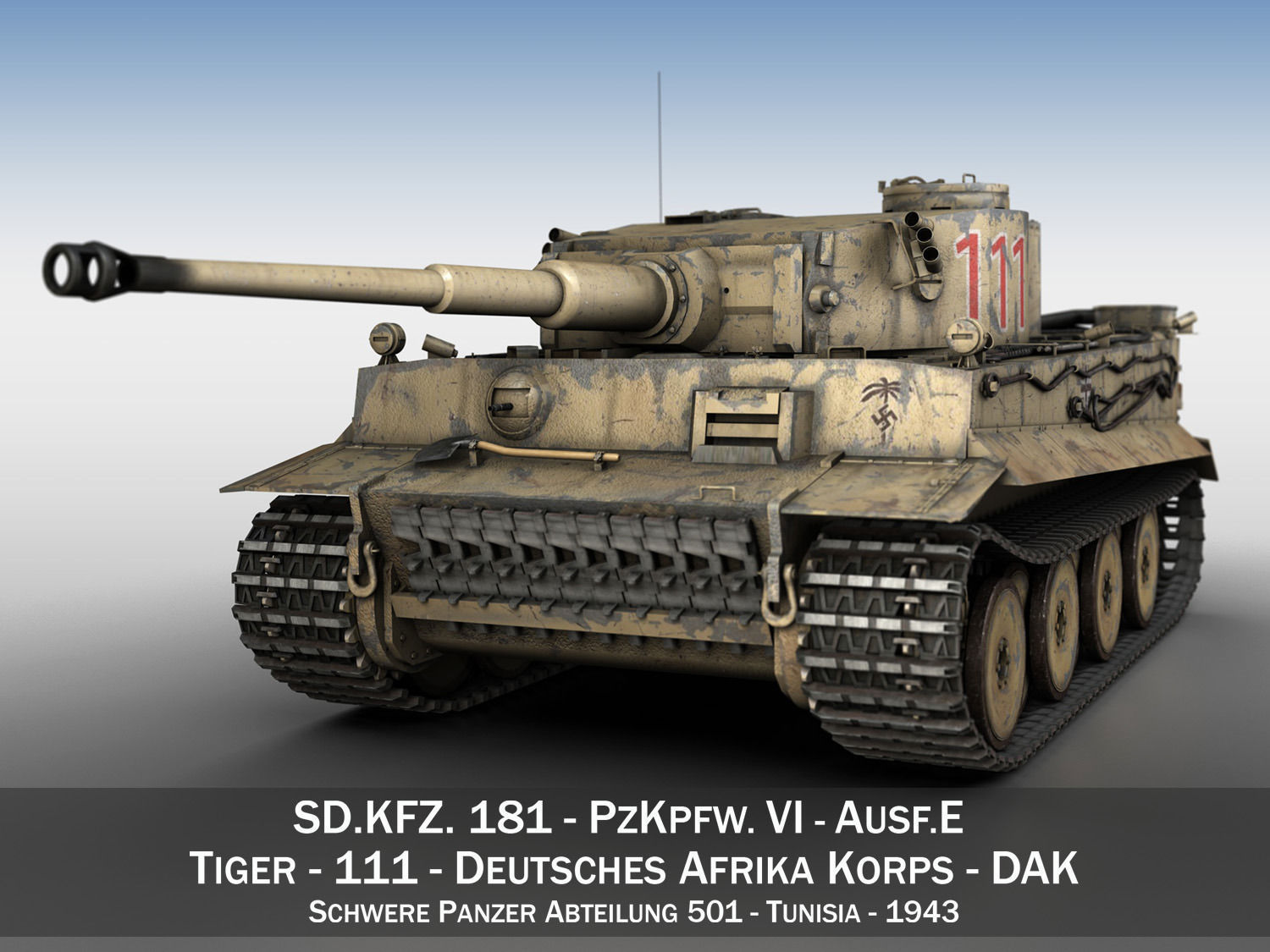 Panzer VI - Tiger - 111 - Early Production