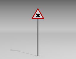 Road junction 3D Model