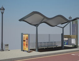 Grid_bus_stop_2_3d_model_3ds_c4d_d50a4865-95ea-4837-8383-71ce4adc3f75