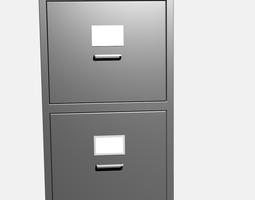 Filing cabinet 3D model
