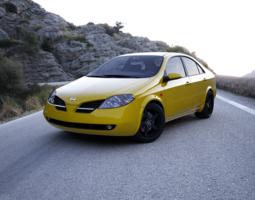 Nissan Primera 3D Model