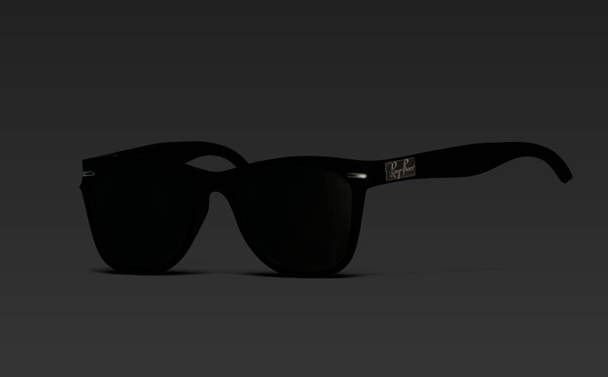 ray ban free 3d model ztl. Black Bedroom Furniture Sets. Home Design Ideas