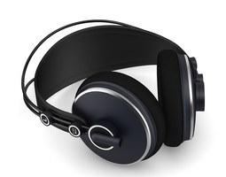 headphones 1 3d model