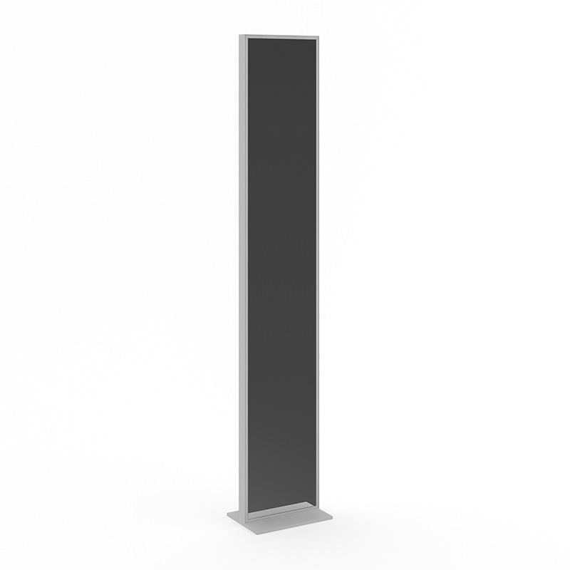 Standing mirror in grey frame 3d model max obj fbx c4d for Standing mirror frame