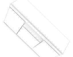 3D White Cupboard