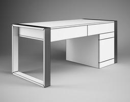 office desk 40 3d