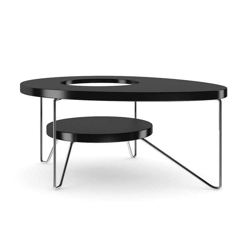 Modern Round Coffee Table 3d Model Max Obj Fbx C4d 3