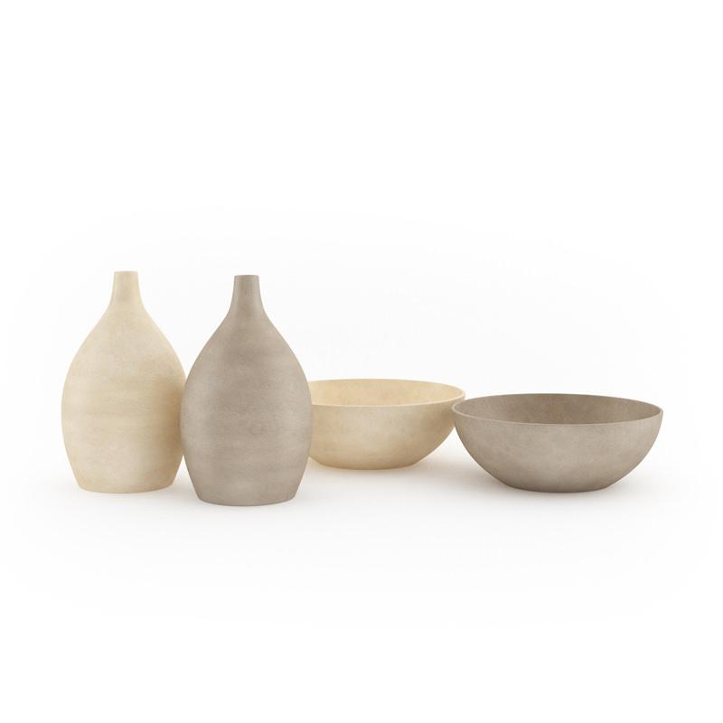 Bowls And Vases Set 3d Model Cgtrader