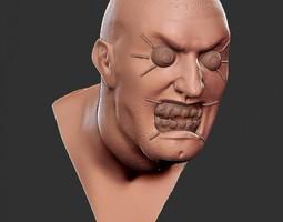Lunatic Man 3D Model