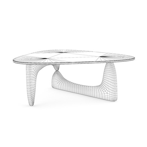 Modern Triangle Coffee Table3D model