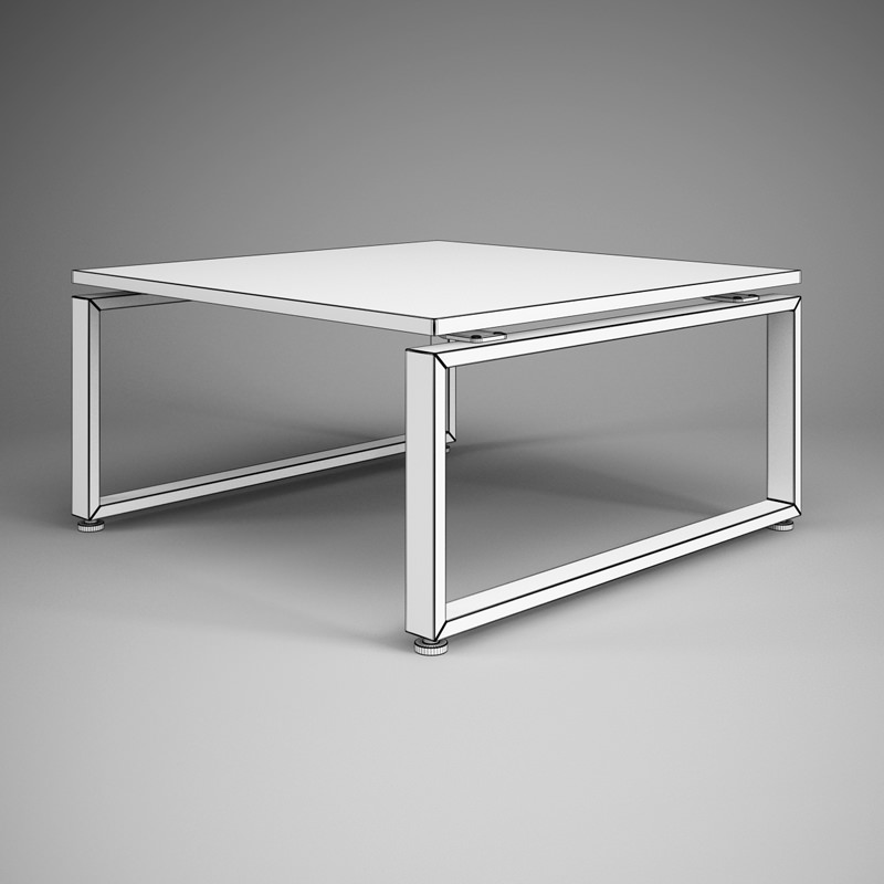 comments 0 square office table 27 3d model cgaxis square office table