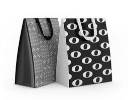 3d model shopping bags