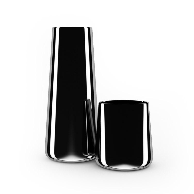 Chrome Vases 3d Cgtrader