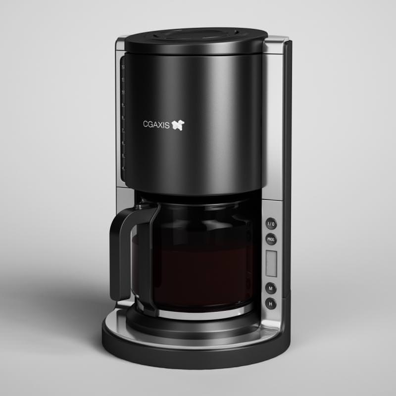 Coffee Maker 07 3D Model MAX OBJ FBX C4D CGTrader.com