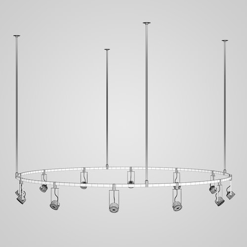 Halogen Lamp Set 163D model